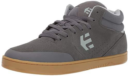 (Etnies Men's Marana MID Skate Shoe Grey/Gum 7.5 Medium US)