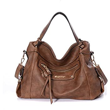 Amazon.com: DDDH Womens Vintage Leather Handbag Hobo Bags ...