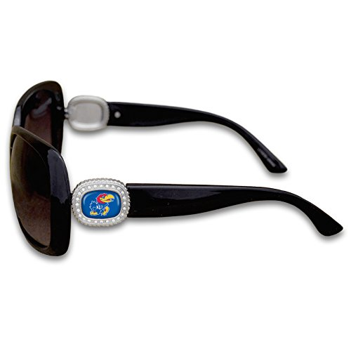 Kansas Jayhawks Black Sunglasses - 3