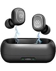 Auricolari Bluetooth, Cuffie Bluetooth, Auricolari Wireless, Cuffie Senza Fili SoundPEATS Stereo Custodia Scatola Ricarica con Microfono Sportivo per iOS/iPad/Samsung/Huawei/Android
