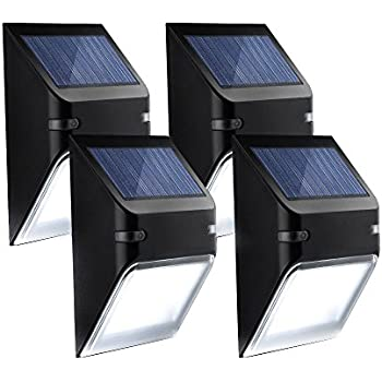 Amazon Com Mpow Solar Powerd Wireless 8 Led Security
