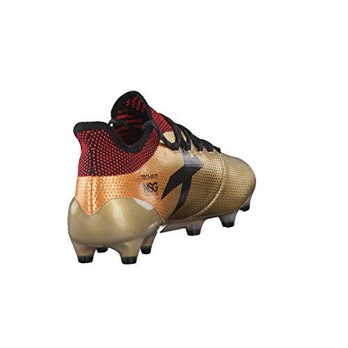 Adidas Mannen X 17,1 Fg Voetbalschoenen, 44,5 Eu Goud (tagome / Cblack / Solred)