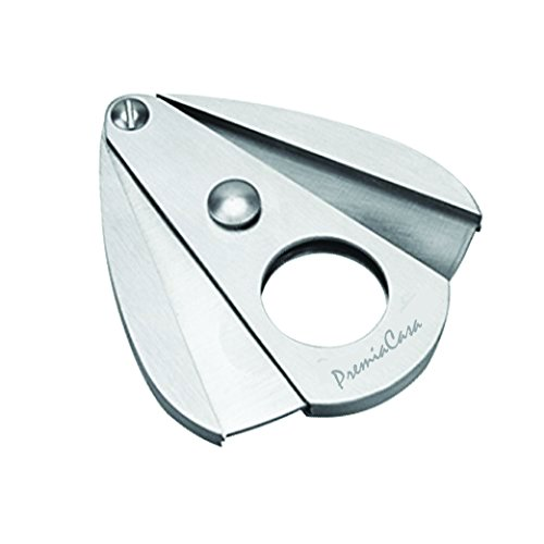 - PremiaCasa Stainless Steel - Double Guillotine Cigar Cutter