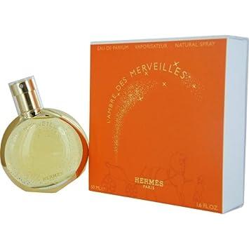 cba1c23276ac Amazon.com   Hermes L Ambre Des Merveilles Eau De Parfum Spray 50ml ...