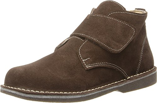 Dark Brown Kid Suede Footwear - Kid Express Baby Boy's Maddox (Toddler/Little Kid/Big Kid) Dark Brown Suede Shoe