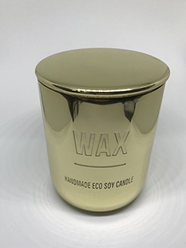 Strongly Scented Handmade Soy Candle Made from Pure Organic Soy Wax & Oil Scent - 400g Jar (Black Plum)