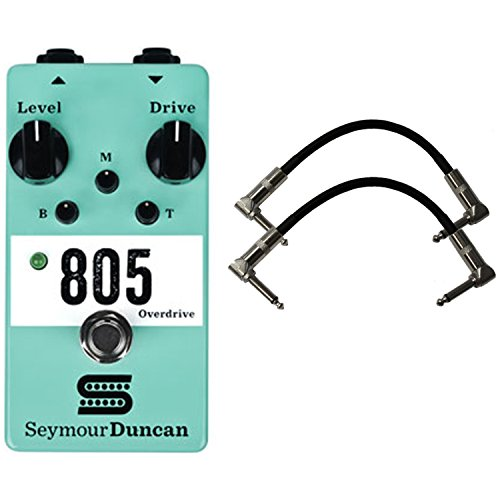Seymour Duncan 805 Overdrive Stomp Box Guitar Effects Pedal w/2 Cables (Duncan Box)