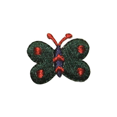 ID 2157D Cute Butterfly Patch Garden Bug Fairy Fly Embroidered Iron On Applique -