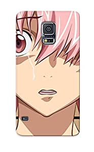 High Quality Tpu Case/ Yuno Gasai Future Diary PqwxcIk1847SpYFg Case Cover For Galaxy S5 For New Year's Day's Gift