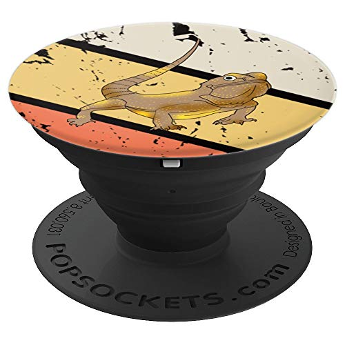 Bearded Dragon Pet Lizard Lover Reptile Owner Gift Idea - PopSockets Grip and Stand for Phones and Tablets (Best Large Pet Lizards)