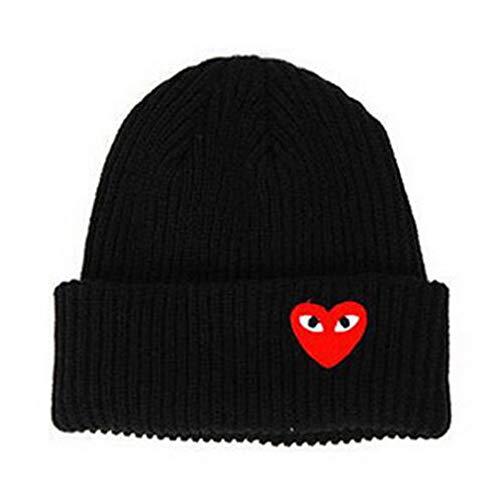 KA DUNSI Woman Warm Hats Knit Hat Toucas Bonnet Hats Man Hat Crochet Cap Black