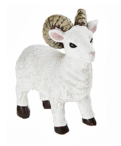 Farm Collection Horned Sheep Figure - By Ganz