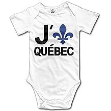 Quebec City Vacation Package Newborn Baby Onesie Bodysuit In 4 Sizes