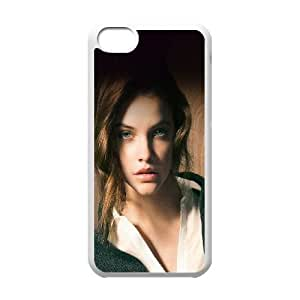 iPhone 5c Cell Phone Case White hc81 barbara palvin staring you natural sexy girl model I0W2VV