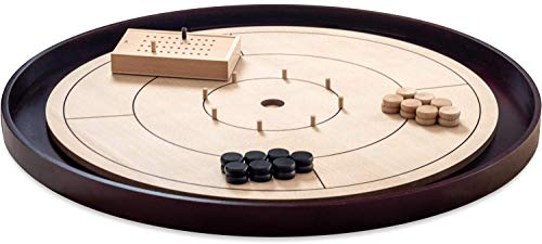 (TARAN GAMES Crokinole Game Board Pro Edition 31