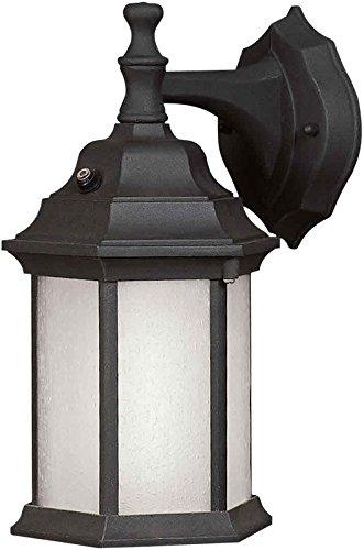 - Forte Lighting 17004-01-04 1 Lt Fl Cast Al Outdoor Lantern In Black