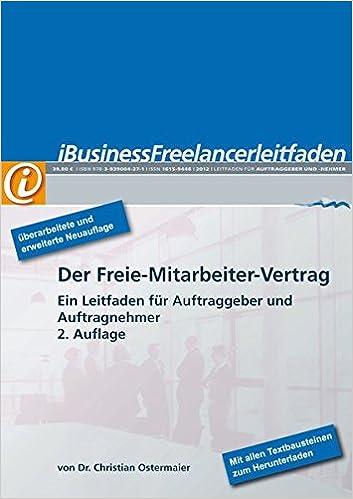 iBusiness Freelancer-Leitfaden: Der Freie-Mitarbeiter-Vertrag - Ein ...