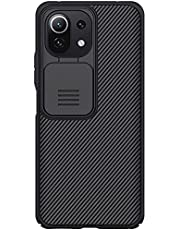 Nillkin Back Cover CamShield Pro Slider Camera Close & Open Double Layered Protection TPU For Xiaomi 11 Lite 4G/5G - Black