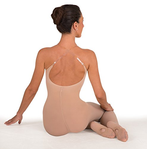 Body Wrappers A91 totalSTRETCH Soft Supplex/Lycra Body Tights (SMALL/MEDIUM, JAZZY (Supplex Camisole)