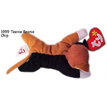 d34e7be260a 1999 McDonalds Happy Meal Toy Ty Teenie Beanie Babies  12 Chip the Cat -  Cali...  Amazon.co.uk  Toys   Games