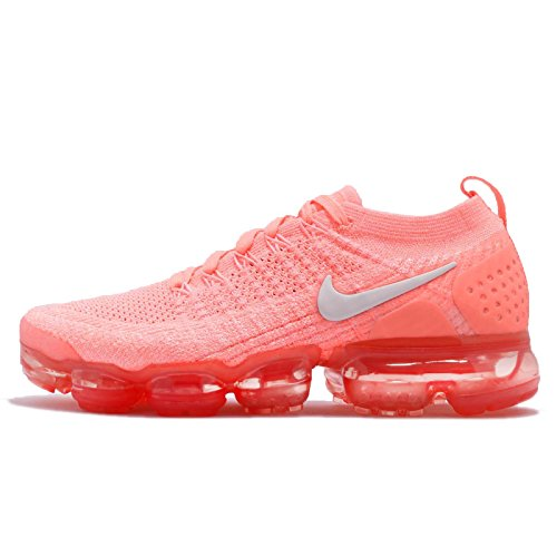 Nike Womens Air Vapormax Flyknit 2 Sneakers New, Crimson Pulse/Sail 942843-800 (6.5) (Pulse Ii Running Shoes)
