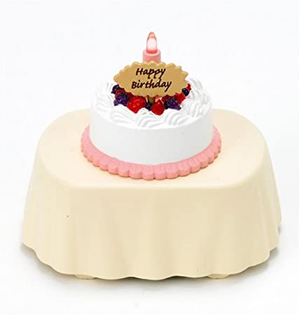 AEX 5pcs Hello Kitty Mini Figure Birthday Cake Candles