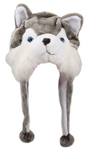 f2fd1e1839980 (Princess) Princess fashionable cartoon animal type long stuffed cap hat  stuffed animal soft warm