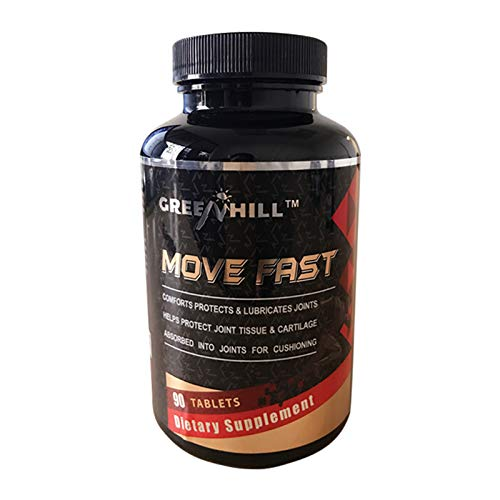 Greenhill Move Fast with MSM and Vitamin D3, 90 Count