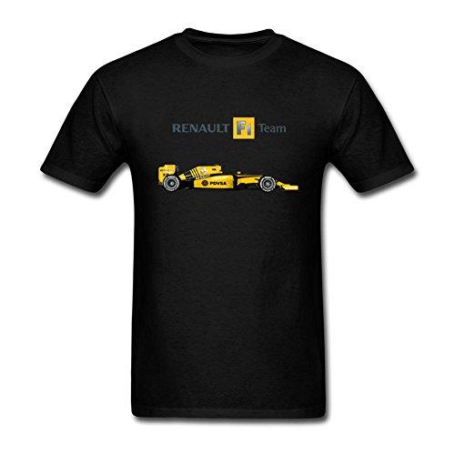 VEBLEN Men's Renault F1 Design Cotton T Shirt