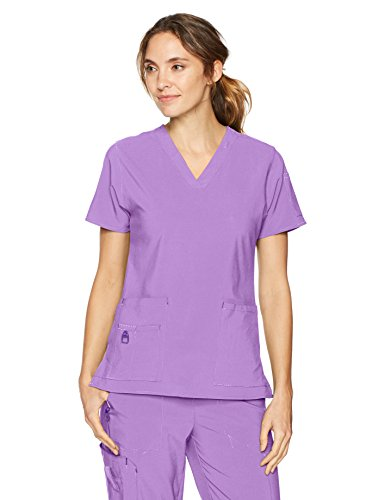 - Carhartt Women's V-Neck Tech Top, Violet, LG