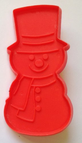 (1970's SNOWMAN Christmas Cookie Cutter by HALLMARK (4 1/2