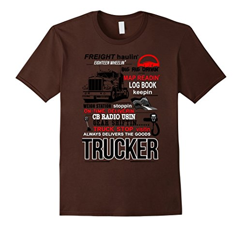 Poochie's Truck Driver T-Shirts - Male XL - ()