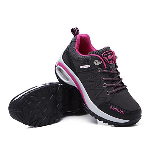 C Non Spring Thick Shoes Shoes Bottom Cushion Fall Slip Women's Travel Shoes Increase Shoes Casual Trekking Air Height Hiking Shoes FExqCIH