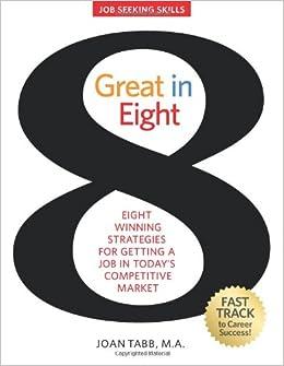 Great in 8: Job Seeking Skills: Joan Tabb: 9780615374611: Amazon ...