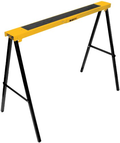 Performance Tool W54035 Folding Metal Sawhorse (250 lb capacity)