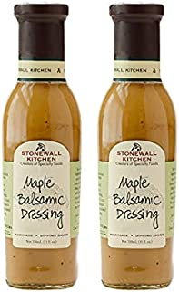 product image for Stonewall Kitchen Maple Balsamic Dressing, 11 Ounces (Pack of 2)