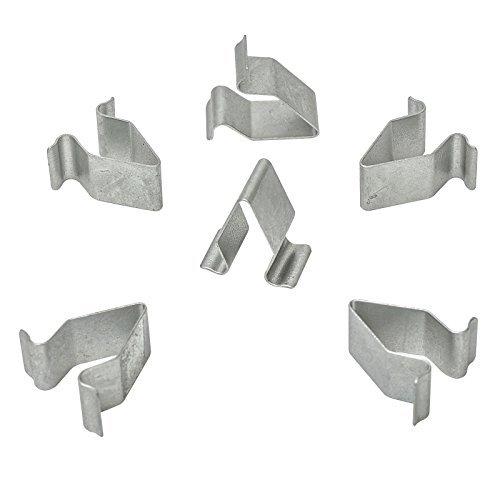 10/X Metallo Clip Di Fissaggio Rivestimento Interno Di Fissaggio