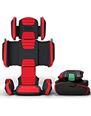 Mifold Hifold Fit-And-Fold Highback Booster Car Seat (Racer Red)