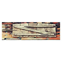 Features:        1.Enhances the aquarium's natural beauty        2.May be trimmed to desired shape and size        3.Hides water stains        4.Cover the back of your Vivarium or Aquarium, with this high quality one sided background. ...