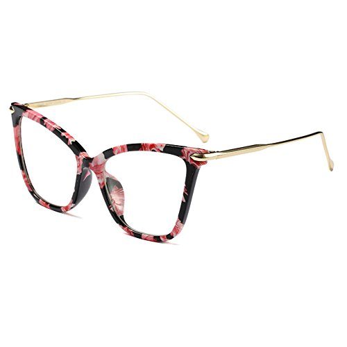 C9 Eyeglasses Cat UV400 Eye Sunglasses Vintage Mujeres Juleya Retro qB108qwx