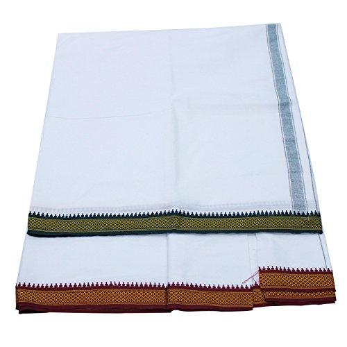 Dhoti Kurta (The Holy Mart Premium quality Pure Cotton Dhoti)