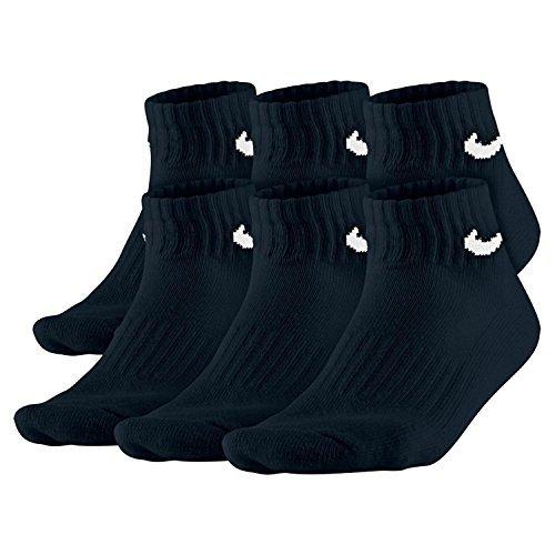 Nike 6ppk Boys Banded Cotton Quarter (L) (Boys)