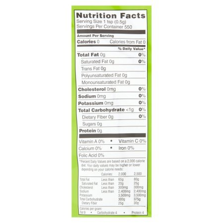 Great Value Granulated No Calorie Stevia Sweetener, 9.7oz Resealable Pouch (Pack of 4) by Great Value (Image #3)
