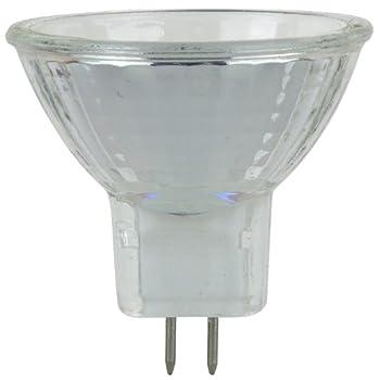 Sunlite 5MR11/CG/12V 5-Watt Halogen MR11 GU4 Based Mini Reflector Bulb, Cover Guard