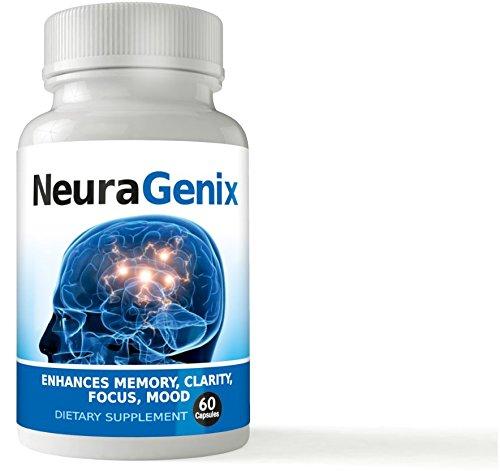 (Neuragenix - Maximum Strength Nootropics - Natural Brain Booster - Supports Memory, Clarity, Focus, Concentration, Energy - Enhances Mental Performance)