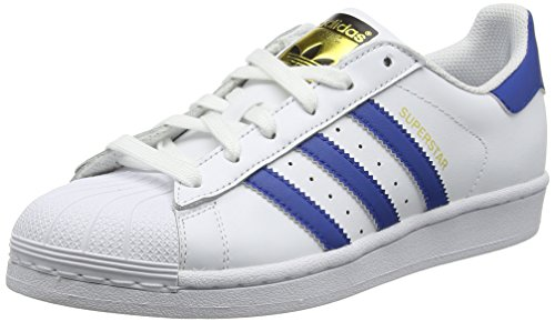 Scarpe Bambini Unisex S16 Foundation eqt weiß Ginnastica Adidas Superstar Da Blue eqt S16 Bianco ftwr White qWEUHXwS