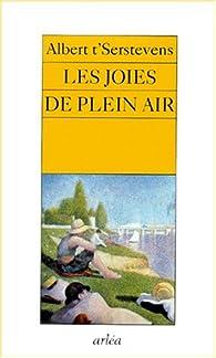 Les joies de plein air par Albert t'Serstevens