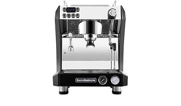 DJY-JY Cafetera semiautomática Comercial Italiana de Vapor Bomba Cafetería Internet Cafe: Amazon.es: Hogar