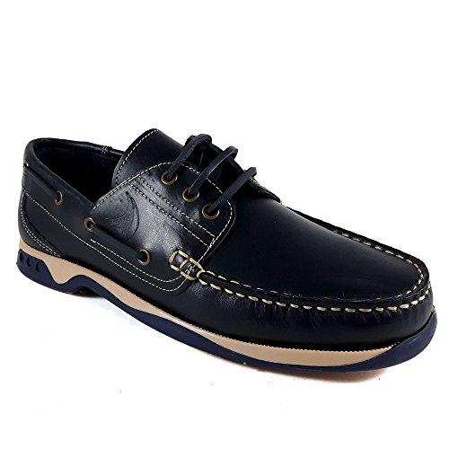 N_BLUE , Herren Bootsschuhe blau blau 40