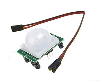 Módulo de Alarma PIR detección de Movimiento para Frambuesa Pi2, Modelo B + o Arduino